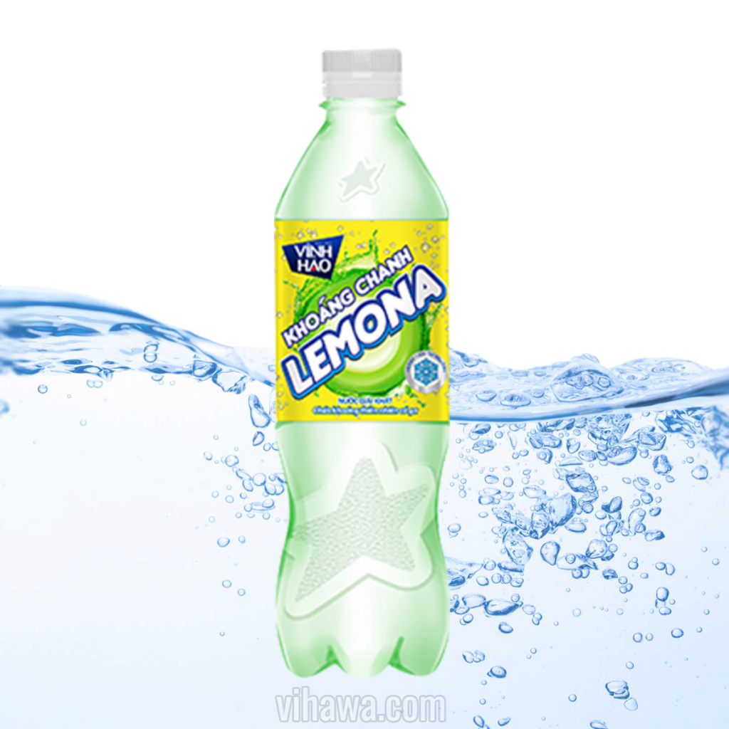 Nước khoáng chanh Vĩnh Hảo Lemona 500ml