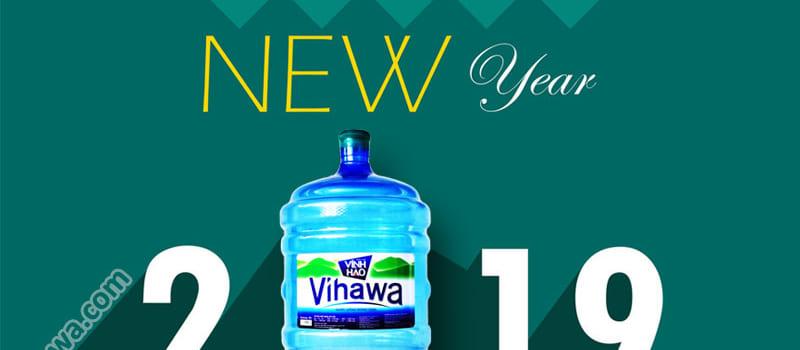 Thông báo tăng giá nước Vihawa 01/01/2019