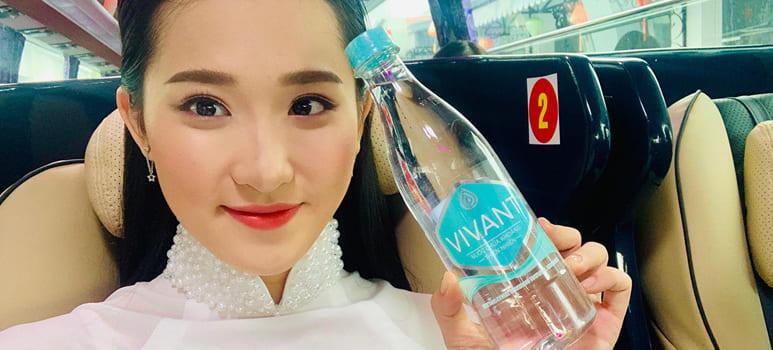 Nước khoáng Vivant đồng hành cùng Miss World  VietNam 2019