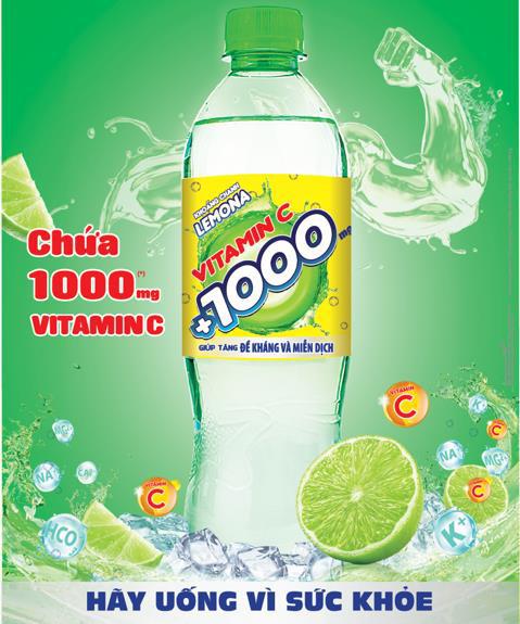 Lemona Vitamin C - Hãy uống vì sức khỏe